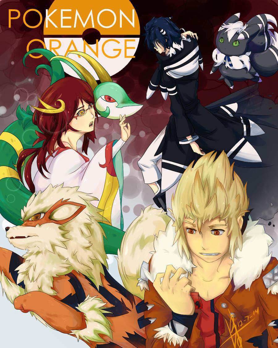 Pokemon Orange by khkairi12