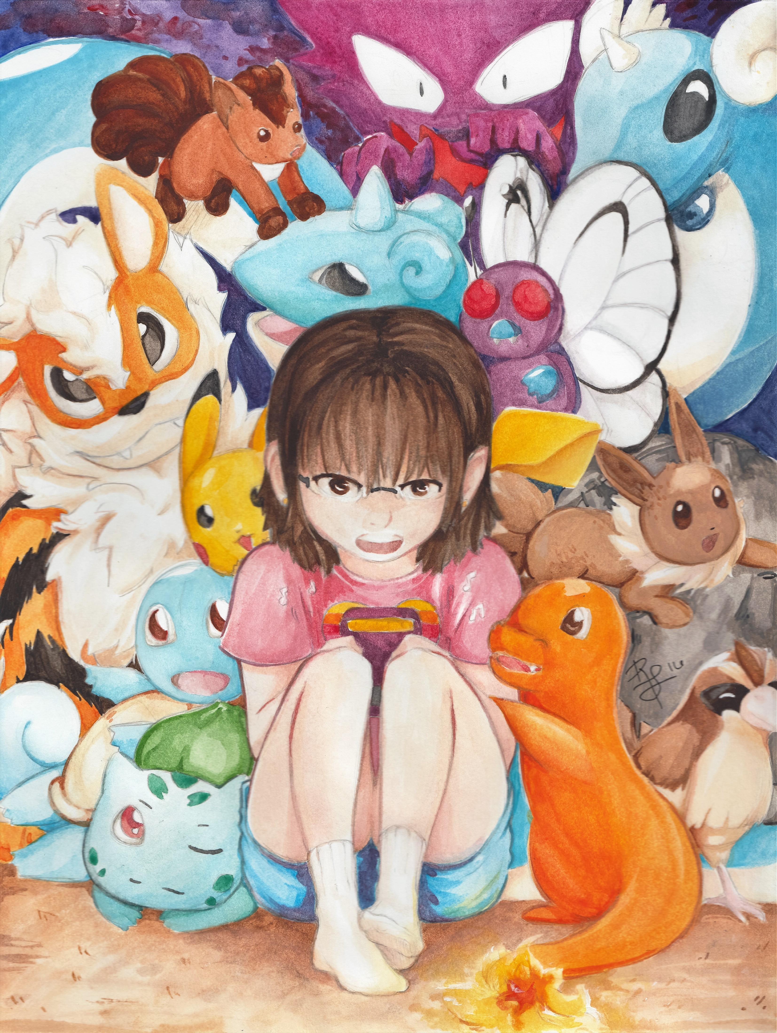Pokemon I Choose You by khkairi12