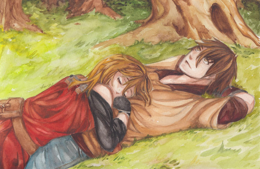 Raine and Reide by khkairi12