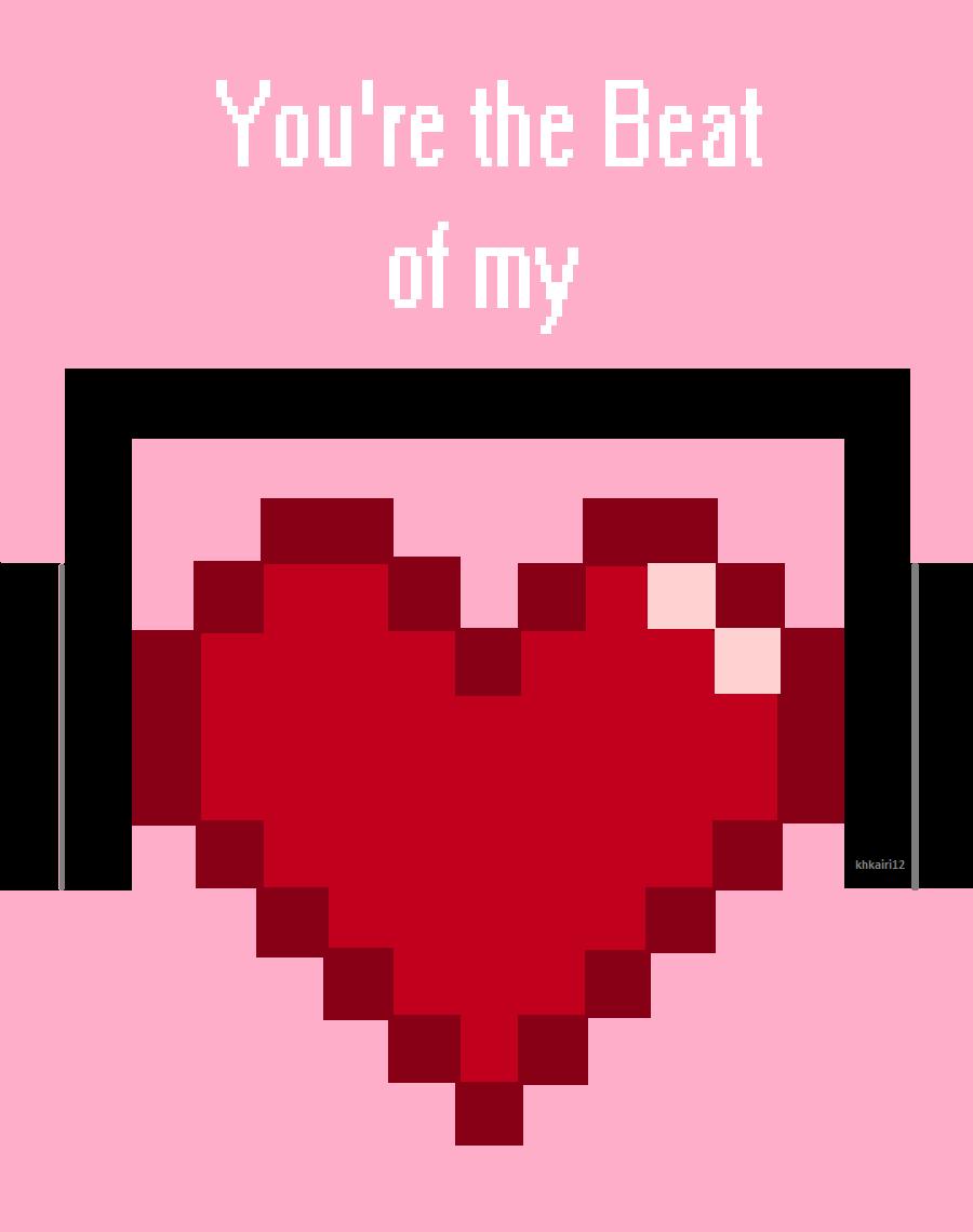 You're the Beat of My Heart by khkairi12