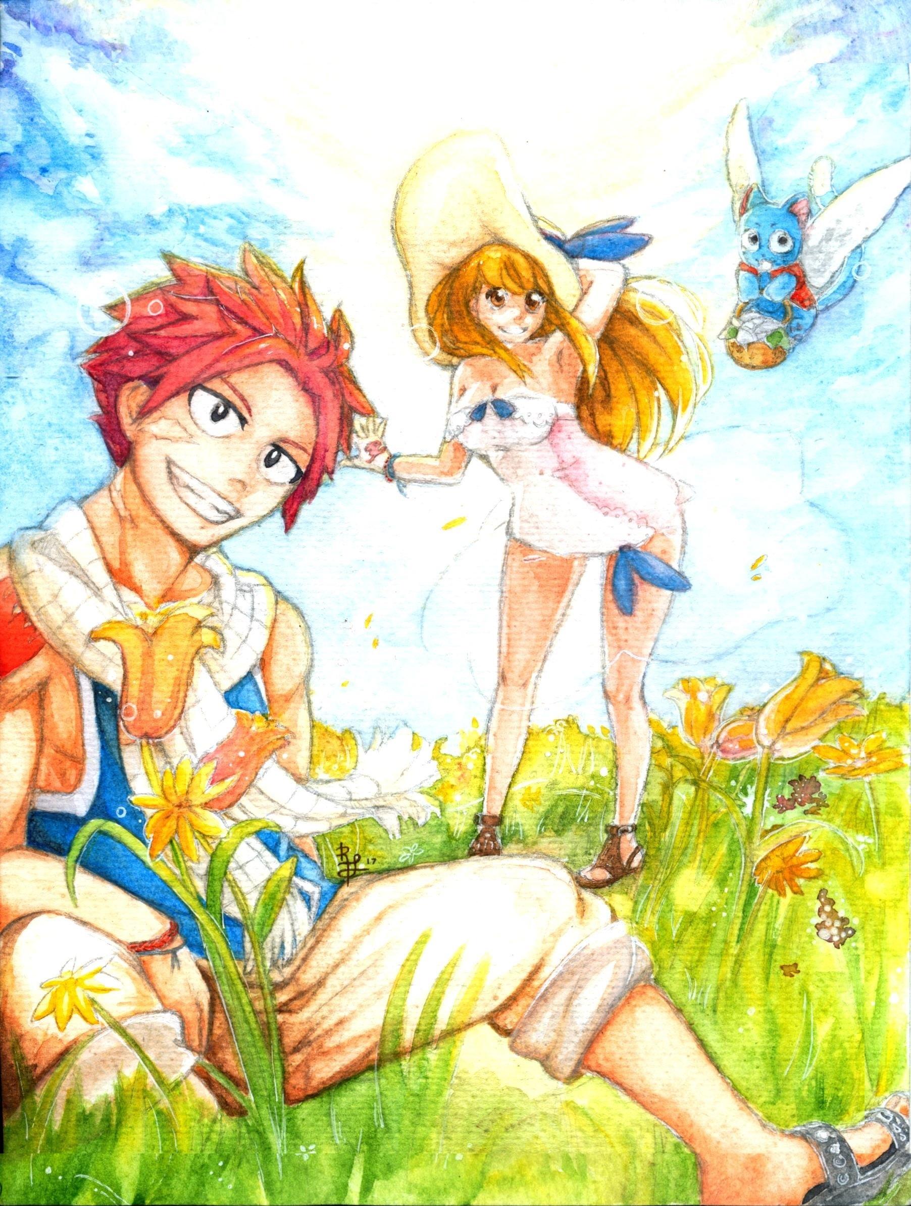 Fairy Tail Summer by khkairi12