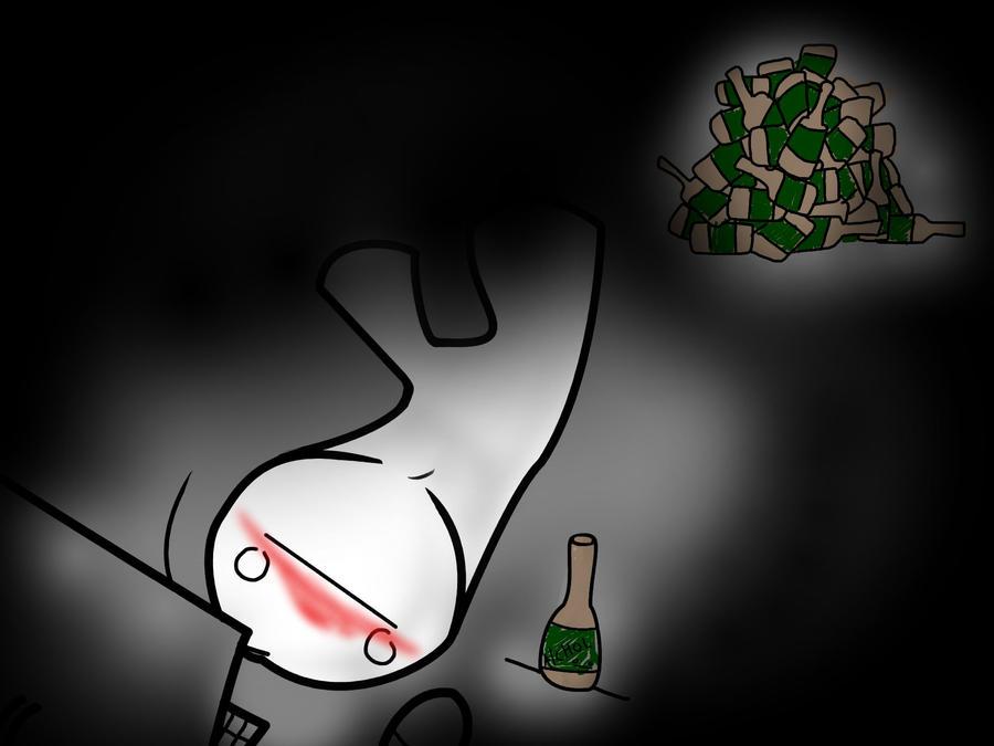 Drunk Cry is Drunk by DeathlingDog