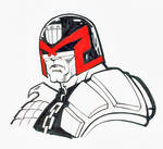 Judge Dredd with a bad look