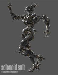 Solenoid Suit by Nidaram