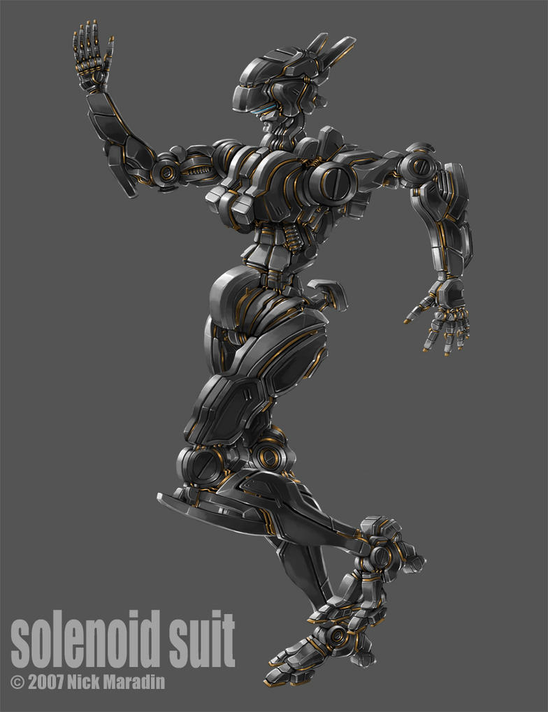 Solenoid Suit by Nidaram