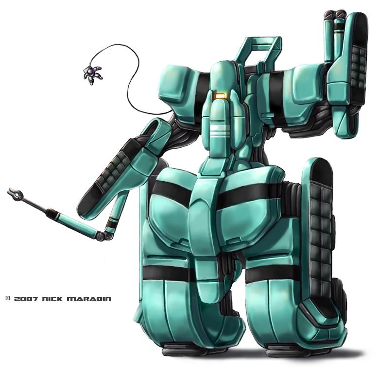 Spacemech 2 by Nidaram