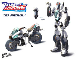 Transformers Animated G1 Prowl by Nidaram