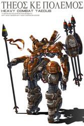 Heavy Combat Taedus by Nidaram