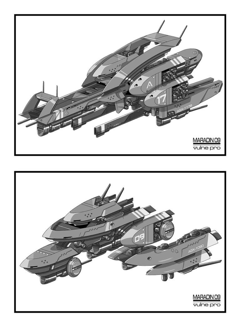Palladium Altess Armoria Ships by Nidaram