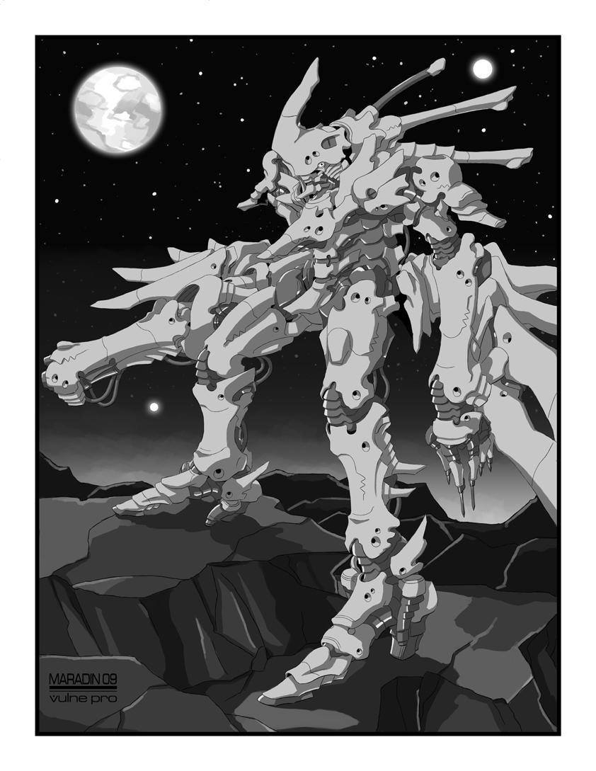 Palladium Blood Bane Armor by Nidaram