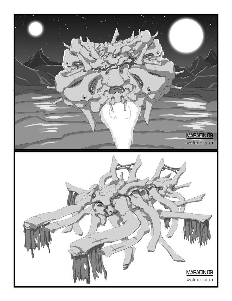 Palladium Demon Ships 2 by Nidaram