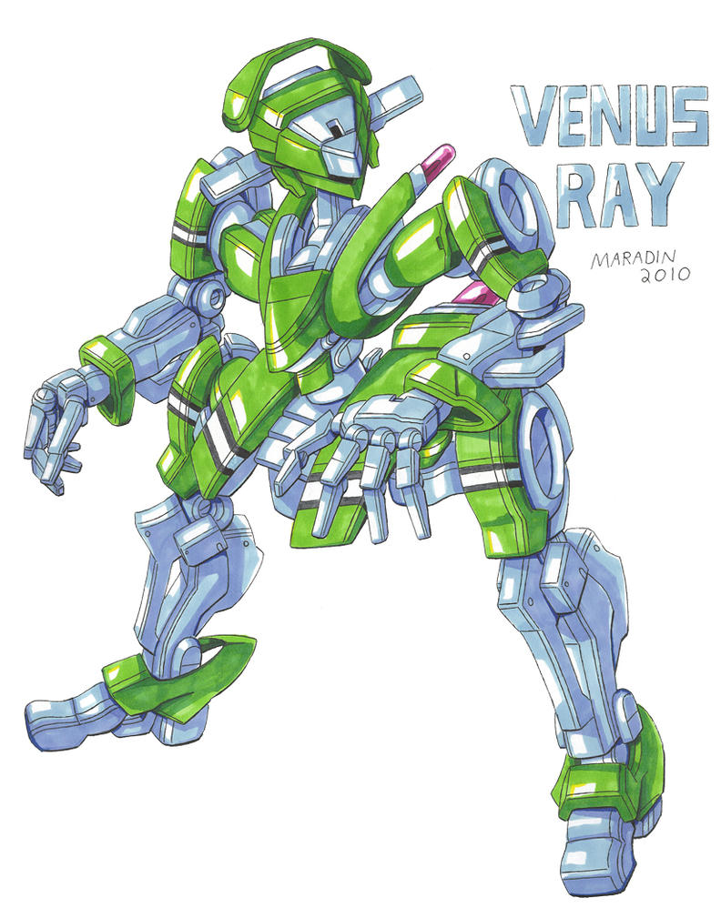 Commission: Venus Ray Markers by Nidaram