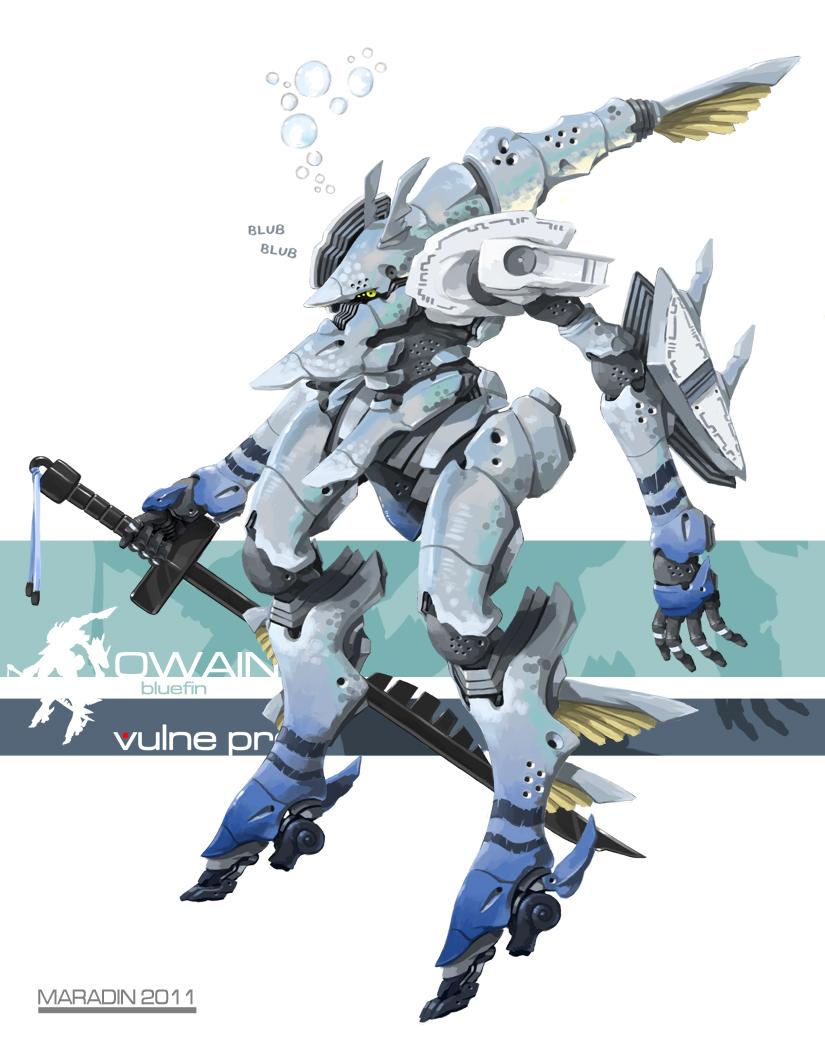 Theos Aquatic Combat Foil by Nidaram