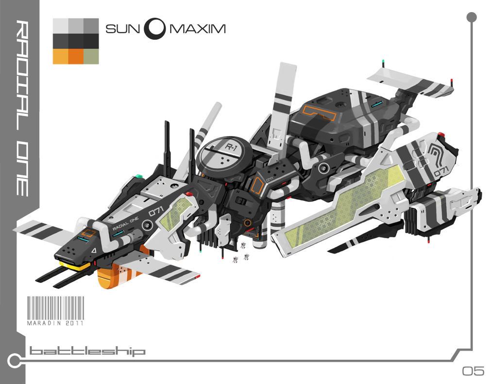 Sun Maxim: Radial One by Nidaram
