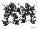 SpekrFreks DJ Robots