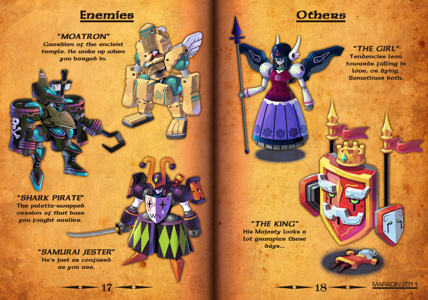 RPG MECHA ENEMIES AND OTHERS by Nidaram