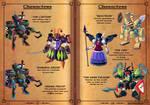Gems of Castelaria Game Manual: Villains