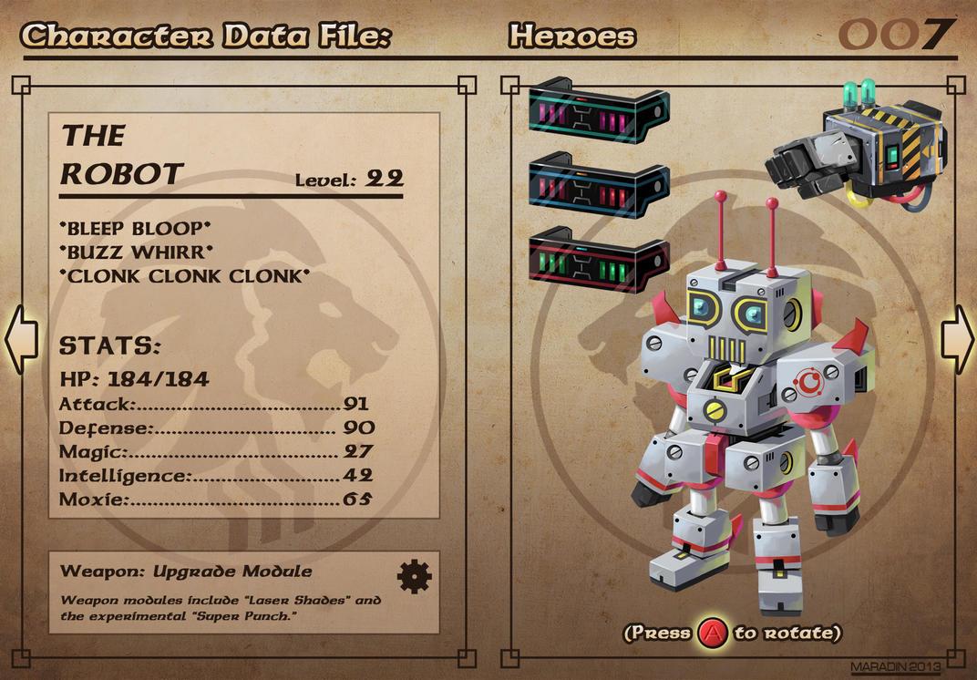 Castelaria Data File 07: The Robot by Nidaram
