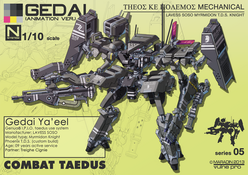 Combat Taedus Gedai Ya'eel Full Loadout