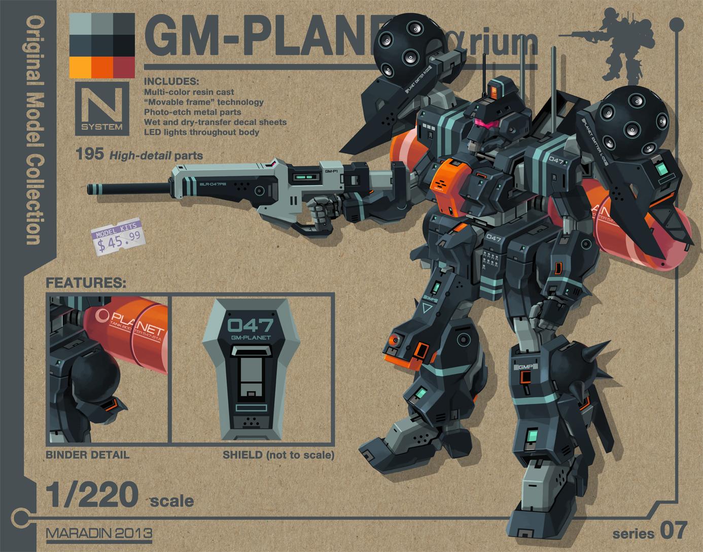 GM Planetarium (Laser Emitter Type) by Nidaram