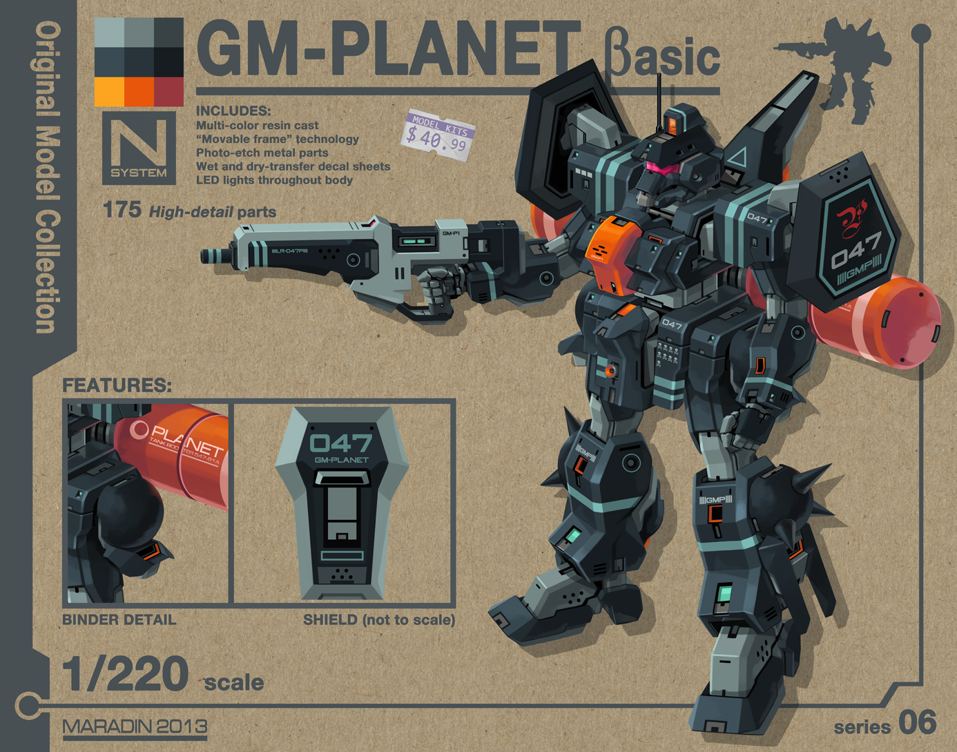 GM Planet (Basic Type) by Nidaram