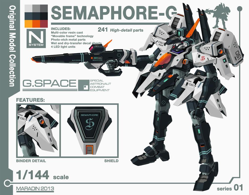 Series 01: Semaphore-G Version 2.0 by Nidaram