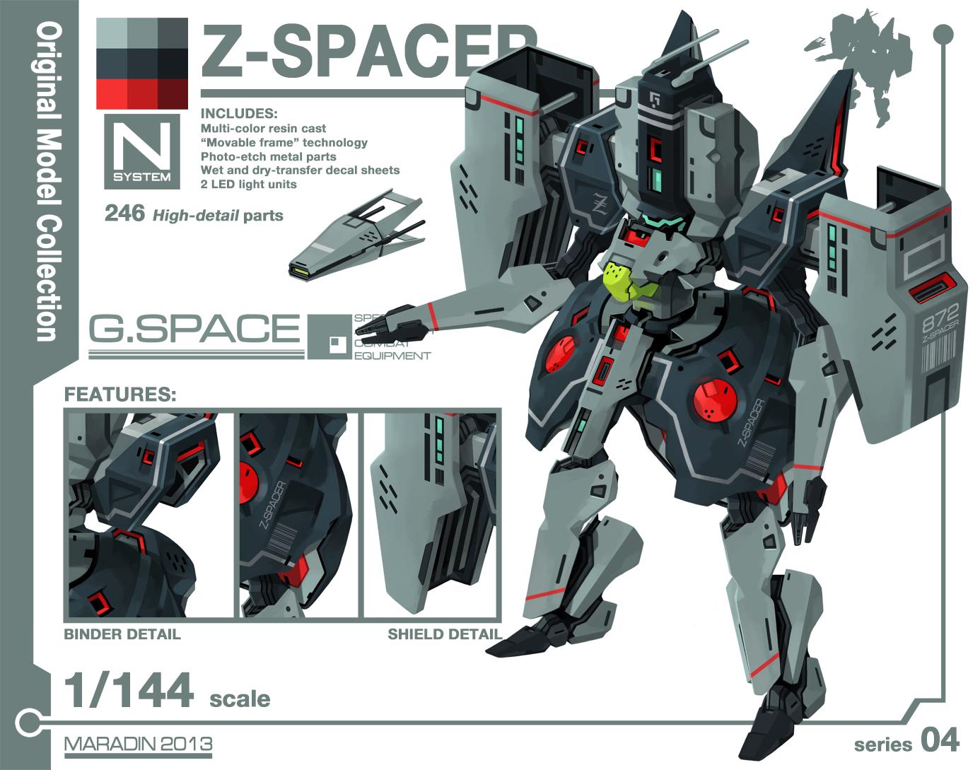 Series 04: Z-Spacer by Nidaram