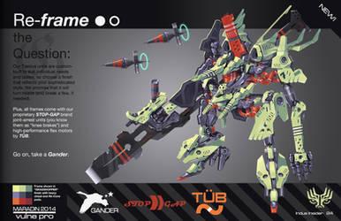 THEOS Custom Combat Taedus 02: Grasshopper Frame