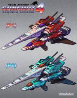 Gunshot 4: Requiem Sunrise 1P and 2P Ships by Nidaram