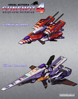 Gunshot 4: Requiem Sunrise Separate Ships by Nidaram