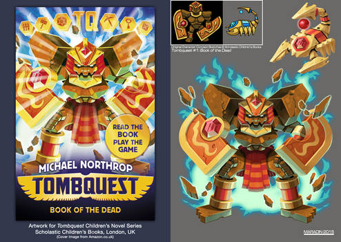 Tombquest 1: Book of the Dead (Shield Golem)