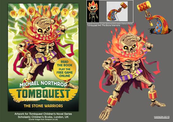 Tombquest 4: The Stone Warriors (Head Tosser)