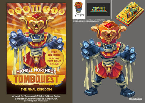 Tombquest 5: The Final Kingdom (Four-Faced Mummy)