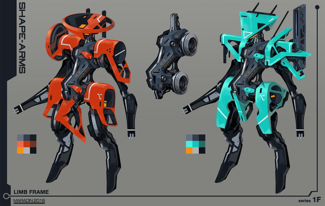 Shape Frame Mecha by Nidaram