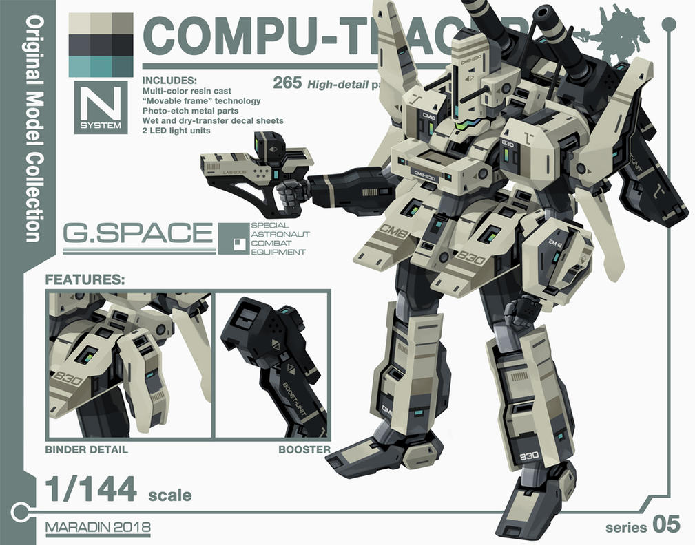 Series 05: Compu-Tracer by Nidaram