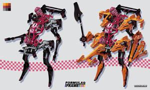 Formula Frame: Orange Mecha