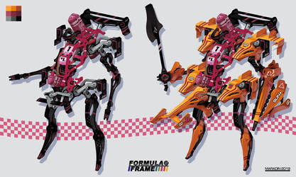Formula Frame: Orange Mecha