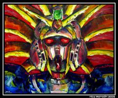 Nobel Gundam in Action 5 by Nidaram