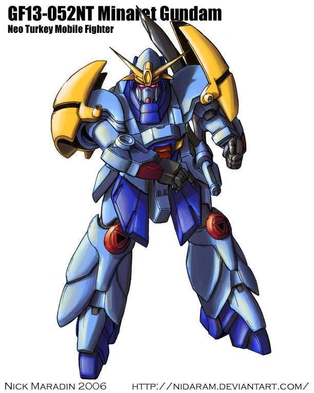 Minaret Gundam by Nidaram