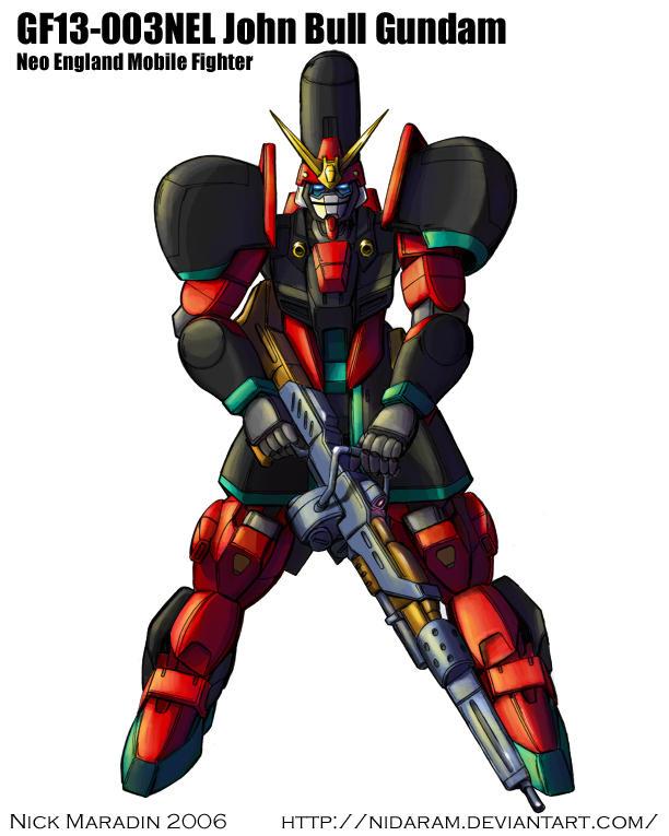 John Bull Gundam by Nidaram