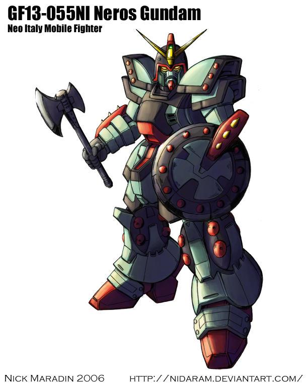 Neros Gundam by Nidaram