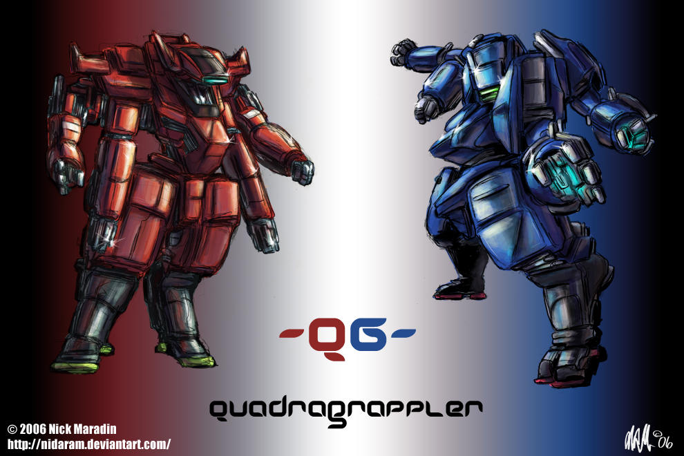Quadragrapplers by Nidaram