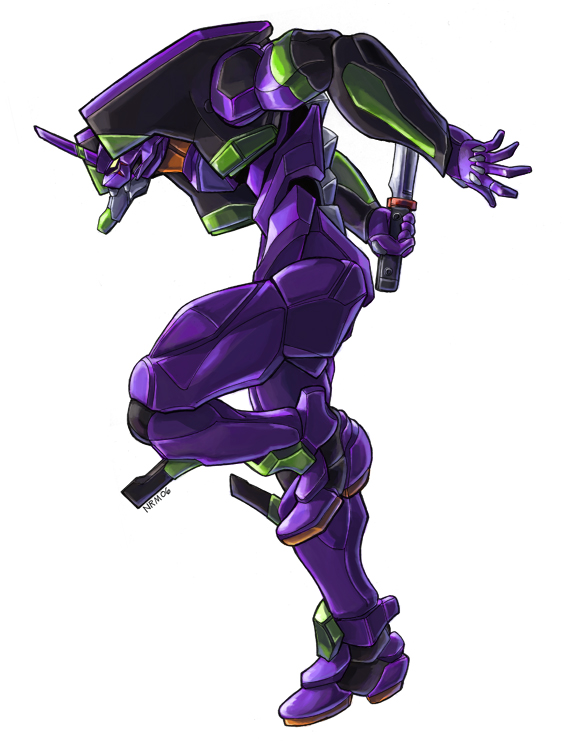 Evangelion Unit 01 by Nidaram