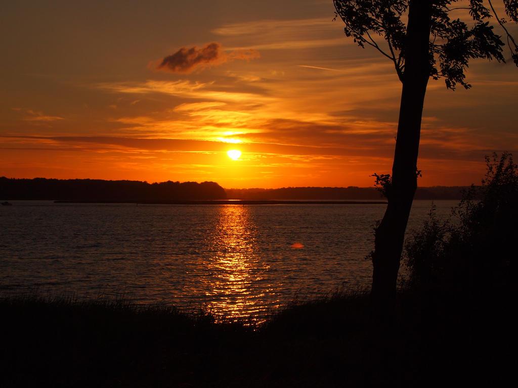 Midsummer Eve's sunset by tanasha67