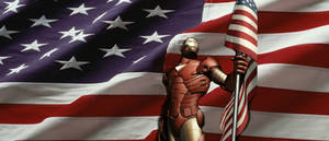 Iron Man Is Proud To Be An American