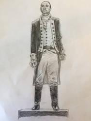 Hamilton Sketch by Purple-Raptor