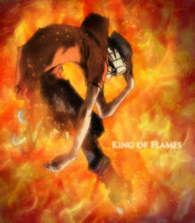 King of Flames by Gray-Fullbuster