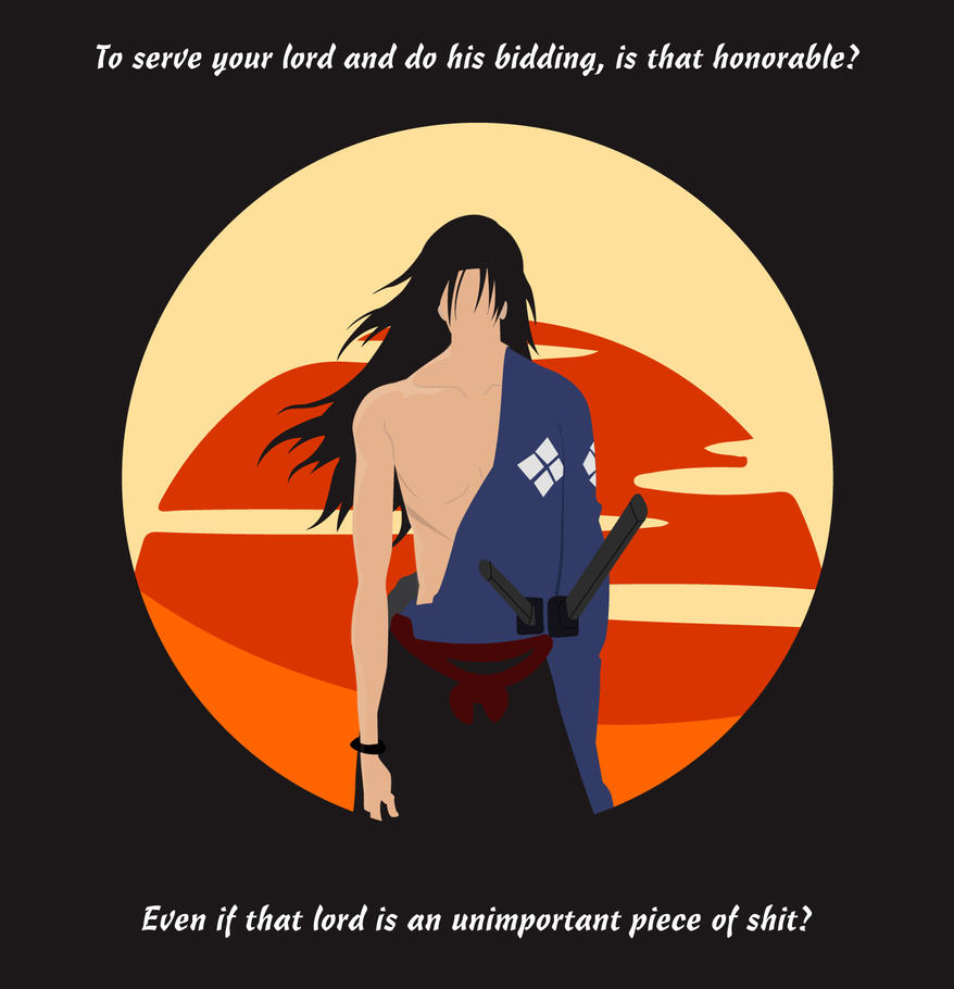 Jin Quote - Samurai Champloo by Marksmansam