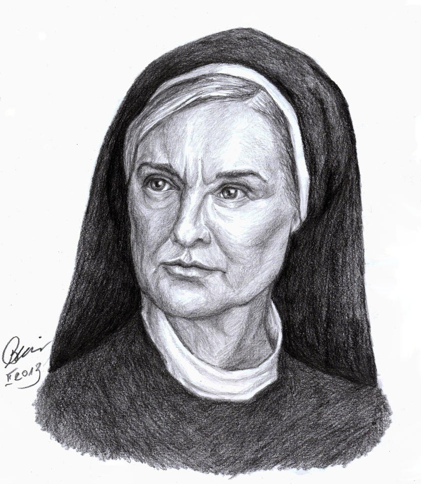 the transformation of sister jude a character in the tv show american horror story asylum
