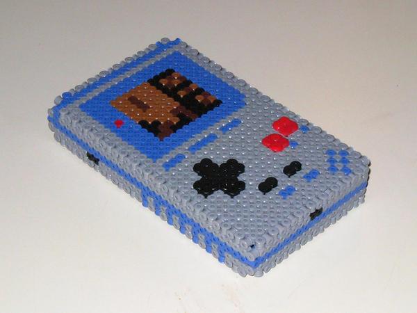 Gameboy 3-D Bead Sprite by DrOctoroc